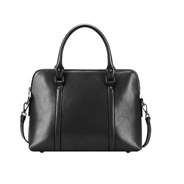 China Supplier 2021 Trending Custom Women's Leather Handbags Slim Briefcase Shoulder Bags Wholesale