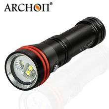 China supplier 18650 Li- ion battery underwater led diving flashlight