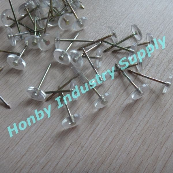 28mm Clear Head Carpet Tacks Nail Pins
