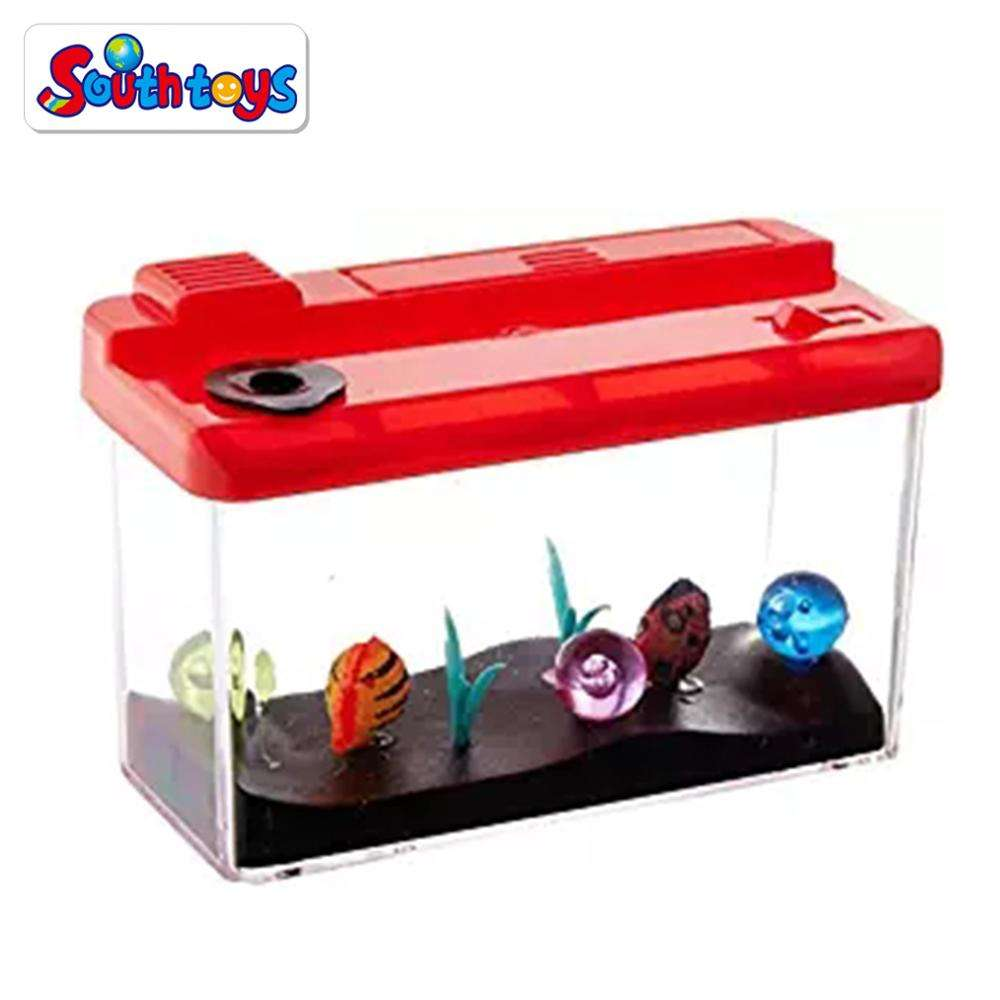 Nieuwigheid Uitbreiding <span class=keywords><strong>Simulatie</strong></span> Mini Aquarium Magic Grow Aquarium Toy Party Favor