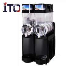Double tank 15+15L Automatic smoothie vending machine