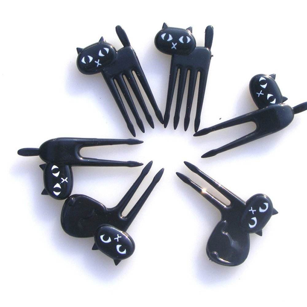 Hot Selling Party Supplies Cute Animal Shaped Bento Picks Food Picks fruit forks