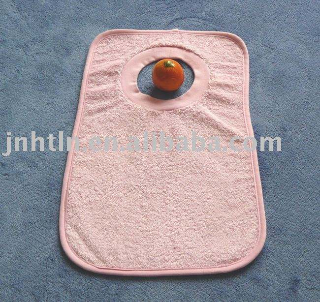 Hot Sales Embroidery Baby Bib 100% cotton