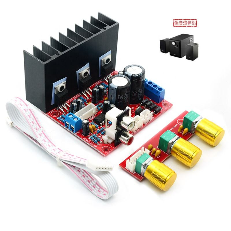 TDA2030A bass 2.1 channel computer high power subwoofer amplifier board 3 channel amplifier finished plate