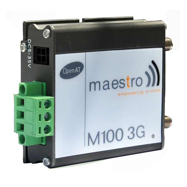 Rs485 3g wavecome maestro 100 gsm modem lan wcdma quad band 850/900/1800/1900Mhz supporto TCP/IP Stack