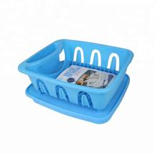 Household Kitchen Plastic Storage Rack Cheap Price Plastic Tray Dish Rack