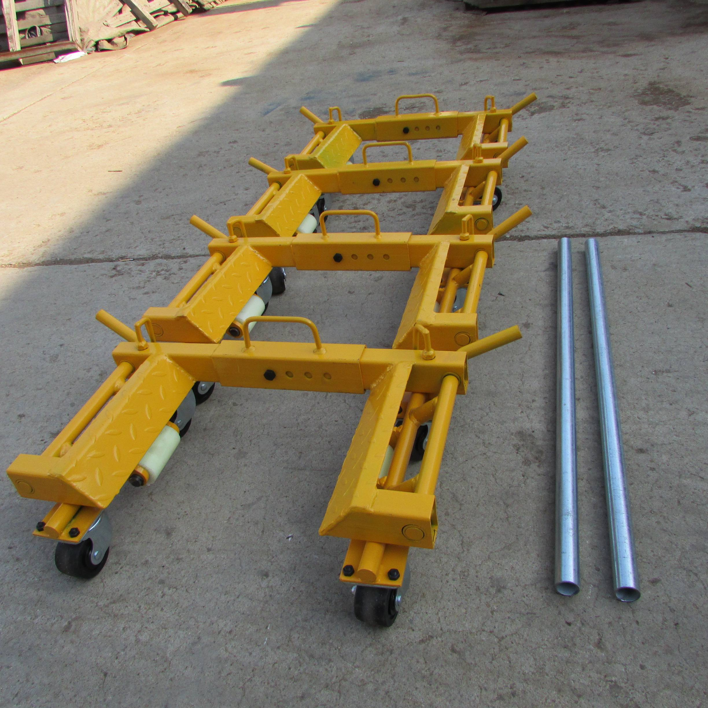 Heavy duty not hydraulic manual portable car dolly / wheel position dolly for sale