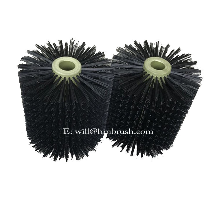 Manufacturer PP Fiber Floor, Glass , Solar Panel Cleaning Roller Brush