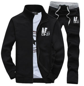 New Design Mens Cheap Tracksuit With Fixed Logo In Stocks