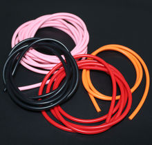 Customized No Smell Silicone Rubber Strips, Clear Natural Silicone Solid Rubber String For Necklace