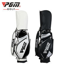 Occident style high quality  custom LOGO design your own PU waterproof man standard staff golf bag