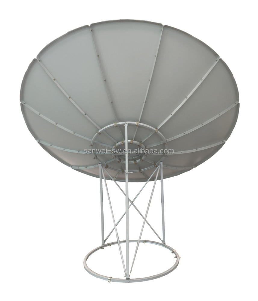 c band 3m satellite dish antenna price