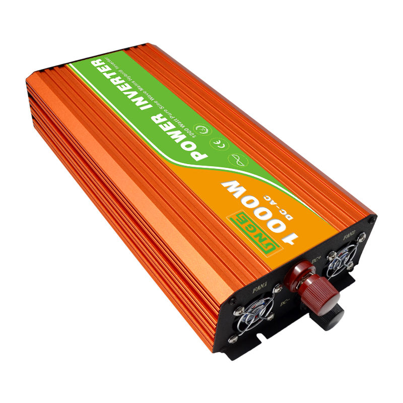power inverter with charger 1000w DC AC hybrid pure sine wave inverter