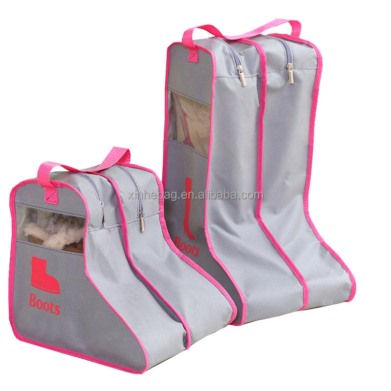 Wholesale dust free non woven boots storage bag with handles