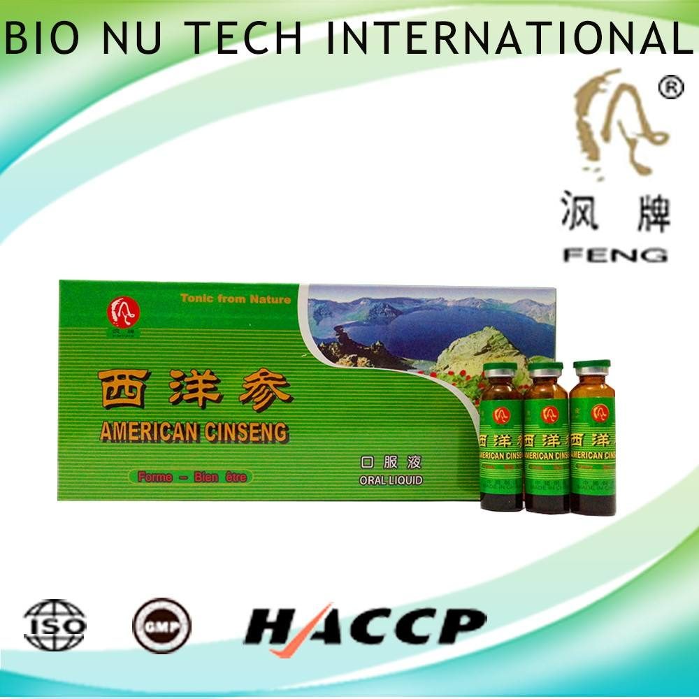 Healthcare Supplement Amerikaanse rode ginseng extractum vloeibare