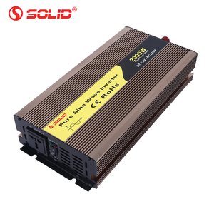 Solid electric pure sine wave 2000w power inverter