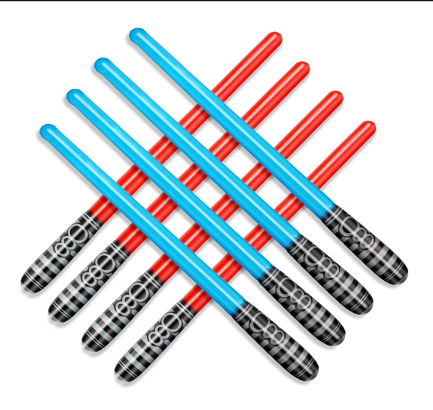 Cheap Price Wholesale PVC inflatable light saber sword toys inflatable sword