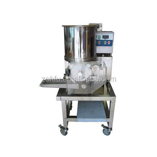 2018 Hot selling Manual hamburger bread cooking machine fast food burger meat pie making machine