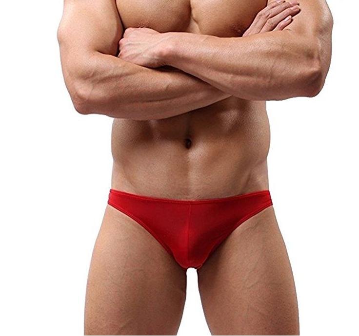 Mens sexy mesh underwear shorts men boxers underpants soft briefs