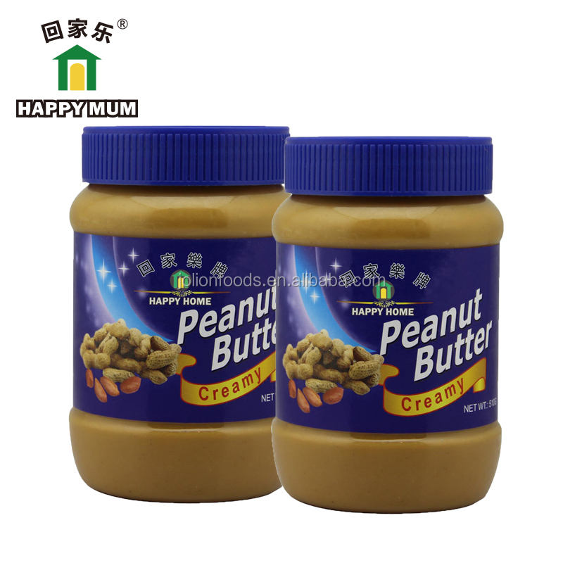 Factory Price Bulk Halal & Kosher 100% Pure 510g peanut butter manufacturers