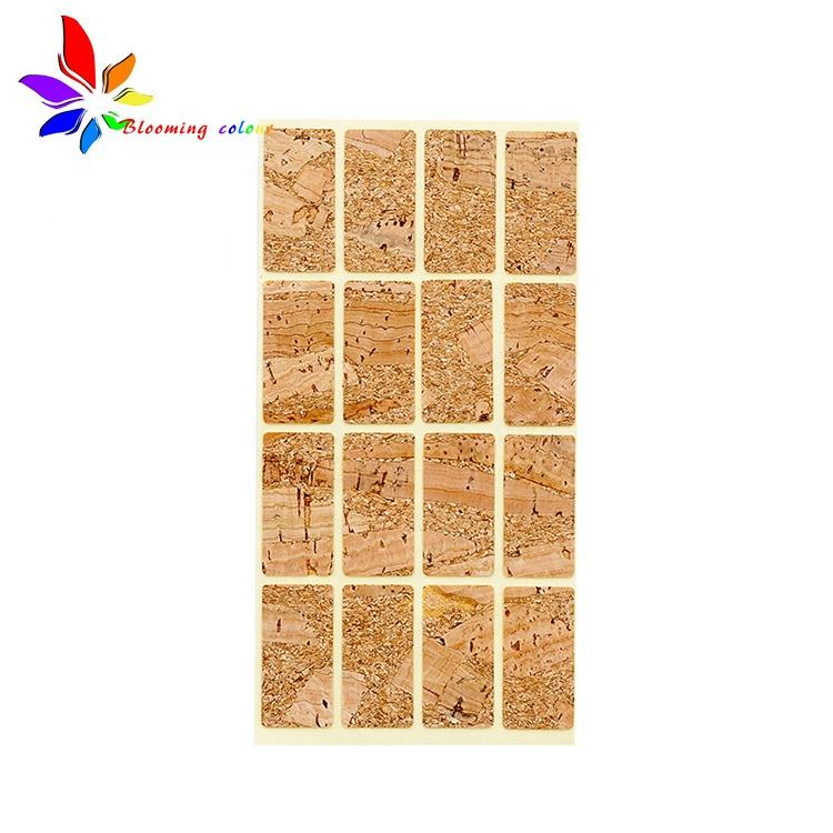 Custom Logo Waterproof Self Adhesive Printing Product Wood sticker Label