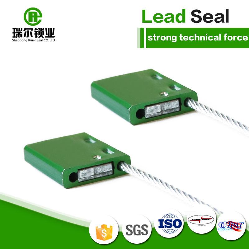 Sellos de seguridad de alta calidad remolque cable sello REC107