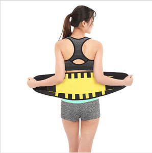 High quality Mesh Back Support Lower Waist Belts abdominal support lumbor brace for working