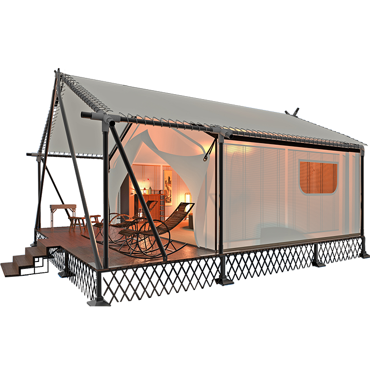 outdoor custom glamping tent for camping
