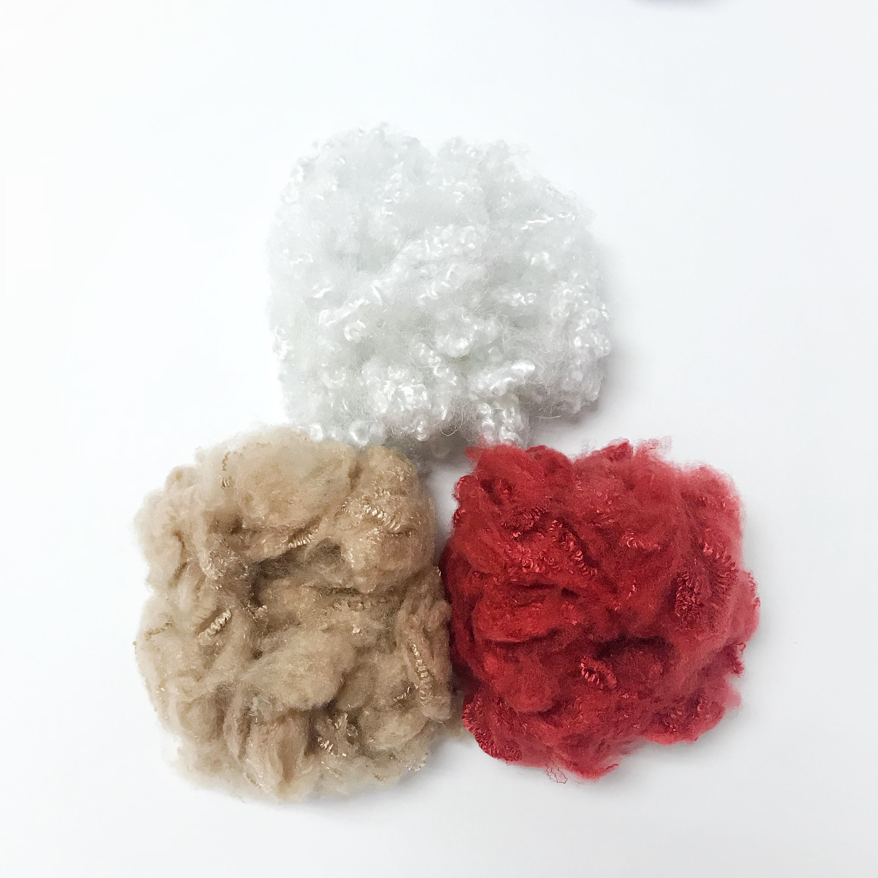 15D Hollow Polyester Staple Fibre Soft Toy Filling Material