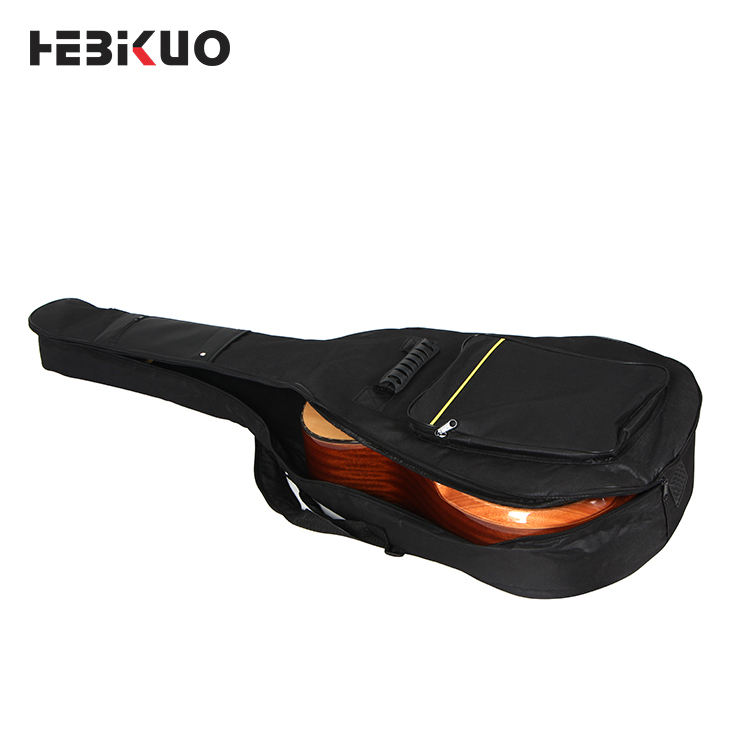 Hot selling 600d oxford acoustic bass guitar gig bag B41-A05 Hebikuo