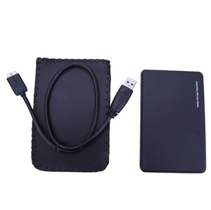 Portable USB 3.0 to SATA 2.5 inch Hard Disk Drive HD Enclosure Case PC External Data Storage for PC Laptop Desktop
