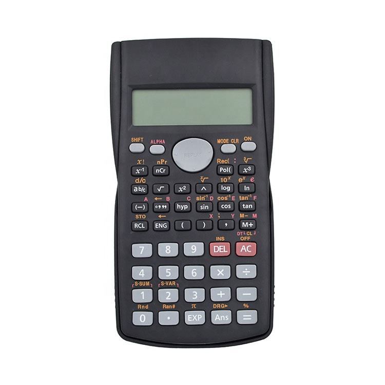 Desktop 10+2 digits plastic 240 functions calculator, Battery power Auto power-off 12 digits scientific calculator for student