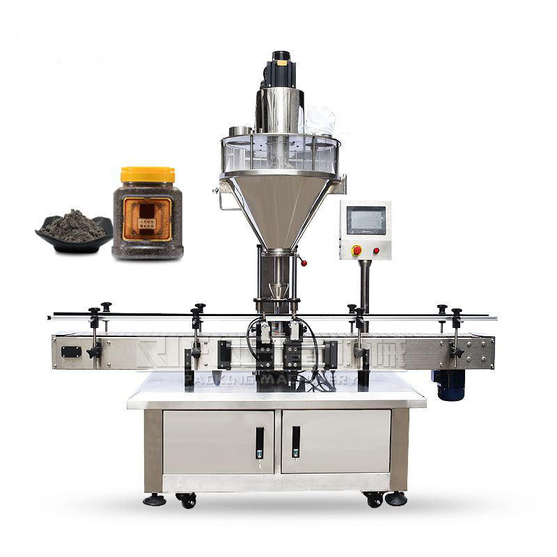 Professional full automatic low cost eye shadow powder soybean milk powder filling packing machine