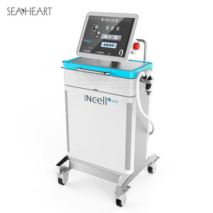 Sea heart exhibition level fractional rf microneedle machine with radio frequency