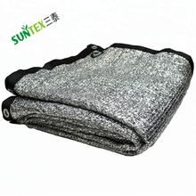 Sun Reflective Aluminum Shade Net,Woven Fabric Silver Shade Mesh,Heat Control Aluminum Shade Cloth
