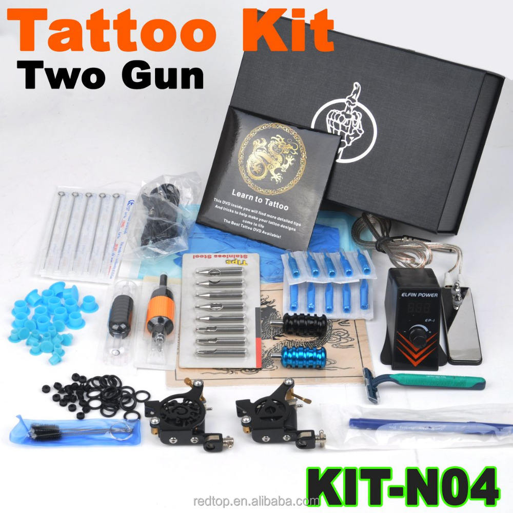 Beste Tattoo Merk Goedkope Tattoo Machine Set Met 2 Tattoo Machines