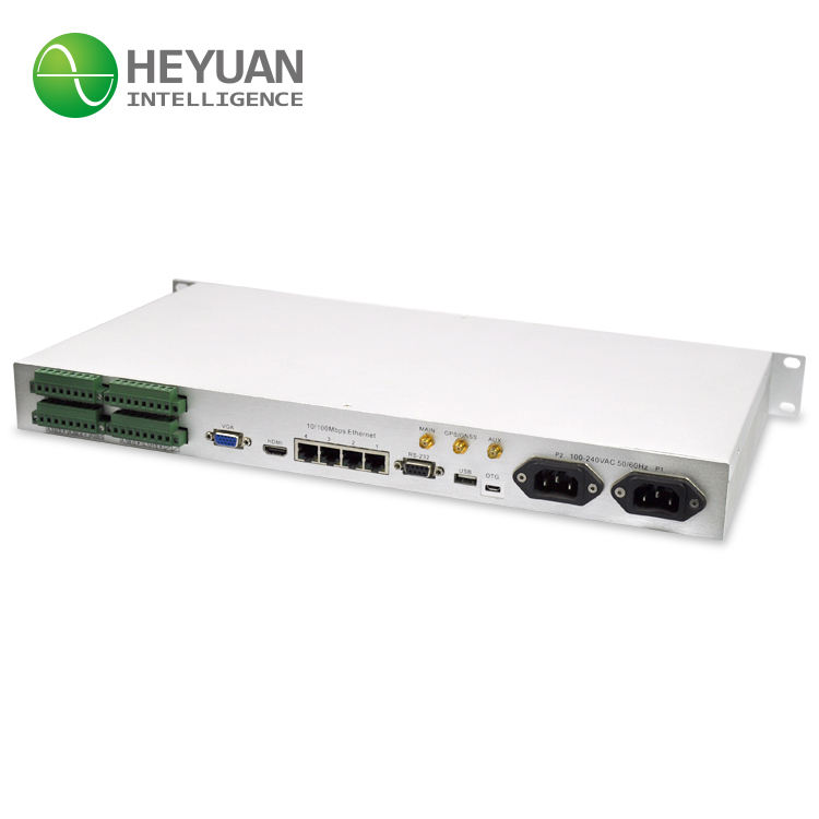 Heyuan Bacnet Gateway 4 יציאות Ethernet Mini PC M2M ASDU-LM