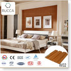 Rucca WPC/PVC Wood and Plastic Composite Indoor Design Wall Panel 204*16mm
