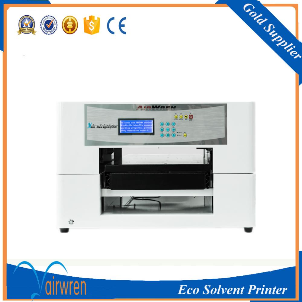 máquina de impresión digital de la impresora de metal placa de identificación de la máquina de impresión plana