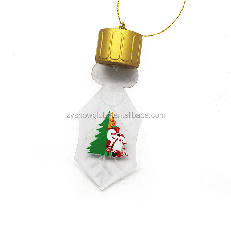 2018 electrical LED christmas hang ornament