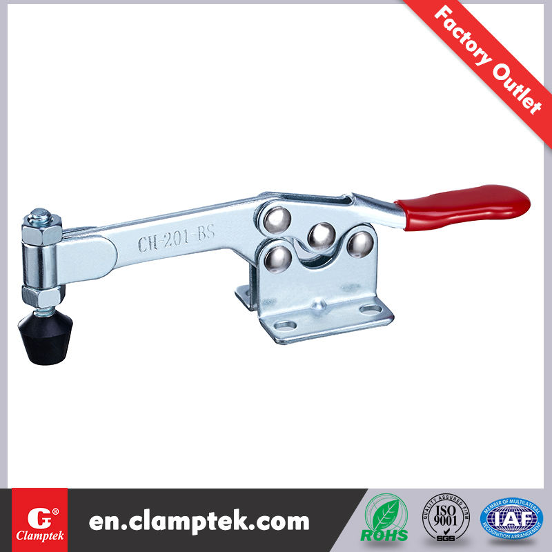 Clamptek Hand Tool CH-201-BS Horizontal Hold down toggle clamps equivalent to Destaco 215-S kakuta HH 350-S