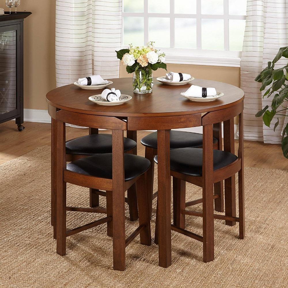 Wholesale furniture china kitchen dining furniture round dining table set