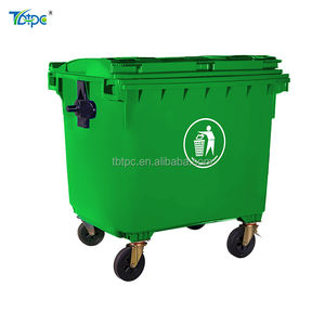 Dump 1100 liter recycle sulo bins