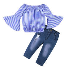 Wholesale Clothing Manufacturers Children Clothes Girl Children's Clothing Sets from China Supplier