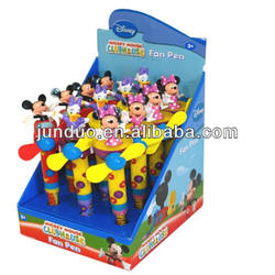 Cartoon animal candy fan (Donald Duck & Mickey Mouse)