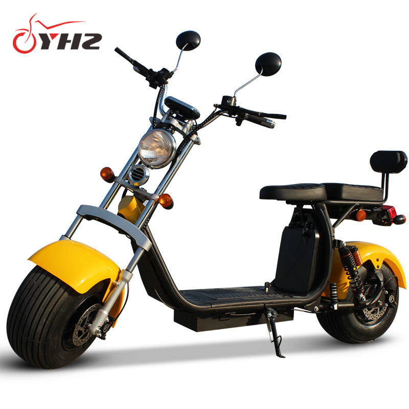 Hot products EEC/COC approved two batteries long range 2 wheel adult electric scooter city coco 2020