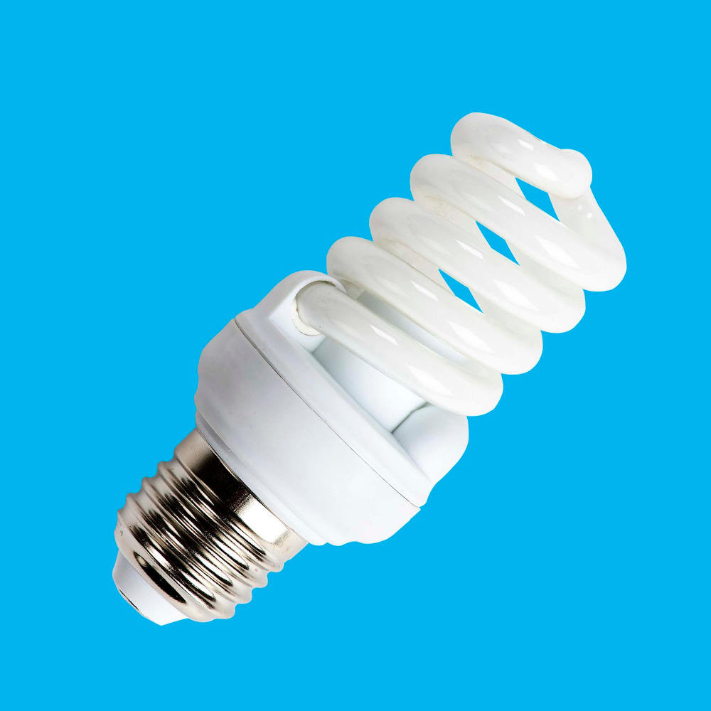 Electric bulbs e27 energy saver CFL light compact fluorescent lamp b22 with 8000hrs 6500k