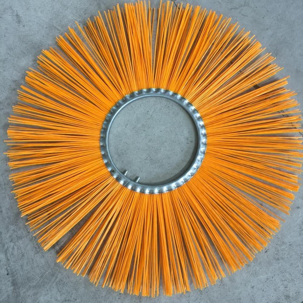 OD 400mm <span class=keywords><strong>Balayeuse</strong></span> Centrale Gaufrette Brosses avec Fil soies