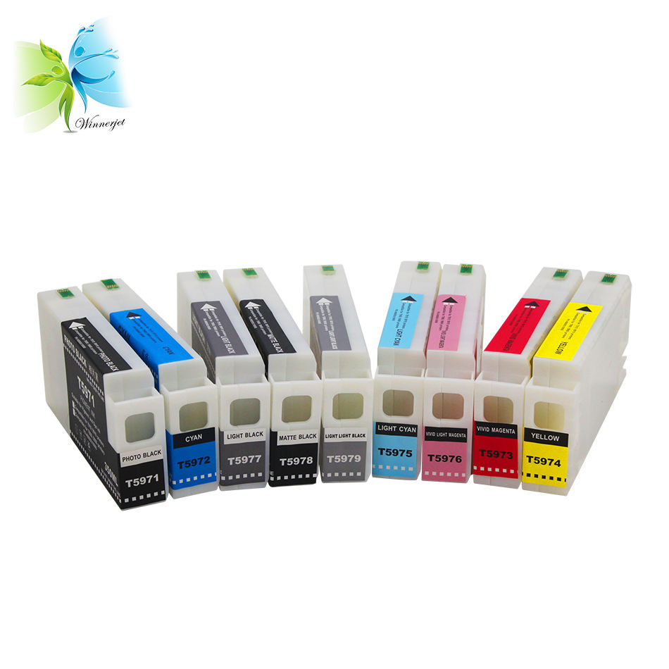 350ml Premium Ultrachrome K3 Pigment Ink for Epson 7900 9900 Compatible Ink Cartridges