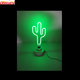 wholesale china factory price custom cactus neon desk lamp